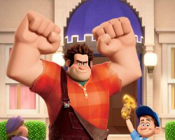 wreck-it ralph party games for kids