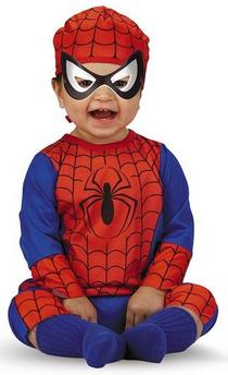 Spiderman Halloween Costumes For kids: Spiderman Baby