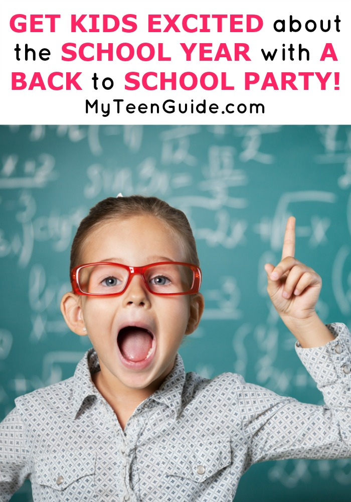 I needed back to school ideas quick, our brains were still on vacation! Try throwing an easy DIY bash filled with fun back to school party games! This back to school party doesn't take much organization at all.