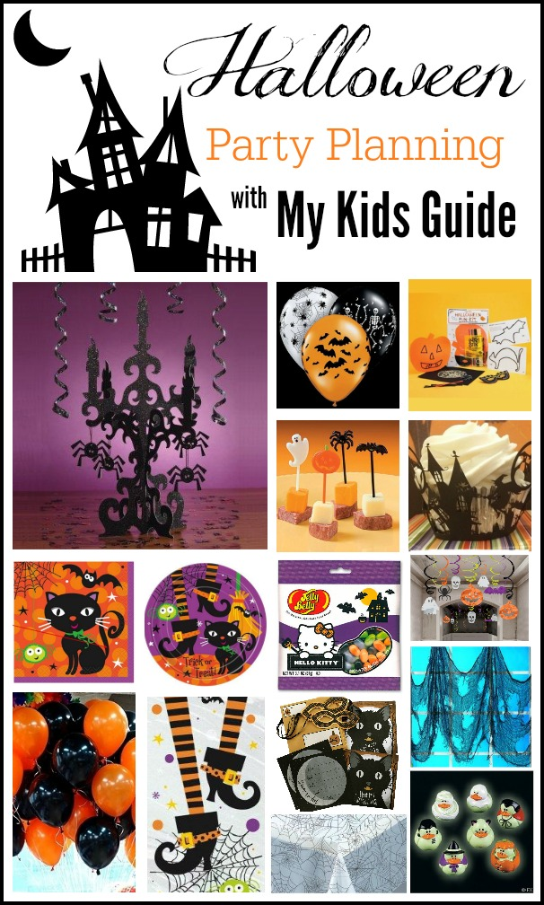 Halloween Party Supplies for Kids of All Ages | MyKidsGuide.com
