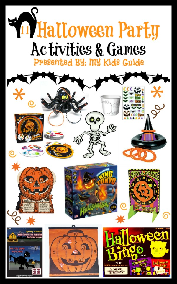 have a frightfully good time with halloween games for kids mykidsguide