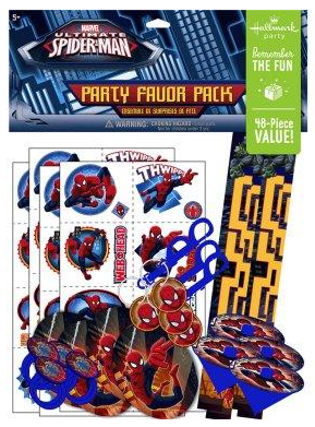 Spiderman Party Favors SpiderMan Party Supplies