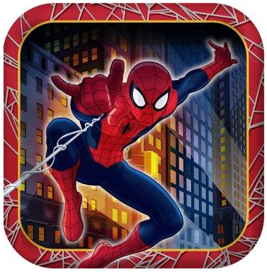 Spiderman Party Plates Spiderman Party Supplies for Kids