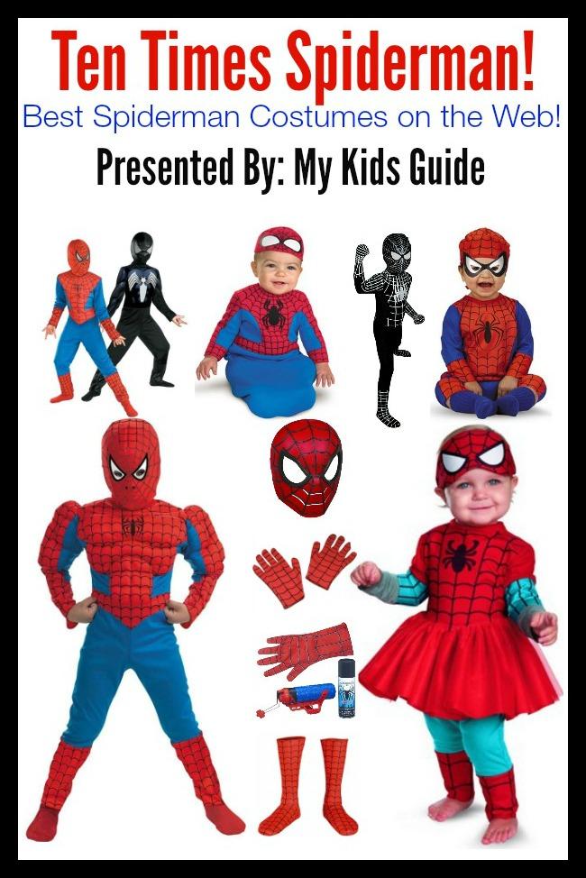 Spiderman Halloween Costumes for Kids | MyKidsGuide.com