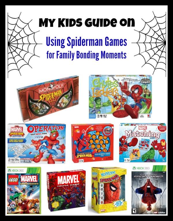 SpiderMan Games For kids for Family Bonding Moments