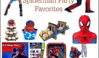 Webslinging Fun SpiderMan Party Supplies for Kids