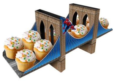 spiderman cupcake holder Spiderman Party Supplies for Kids