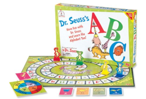 ABC Game Dr. Seuss Board Party Games for Kids