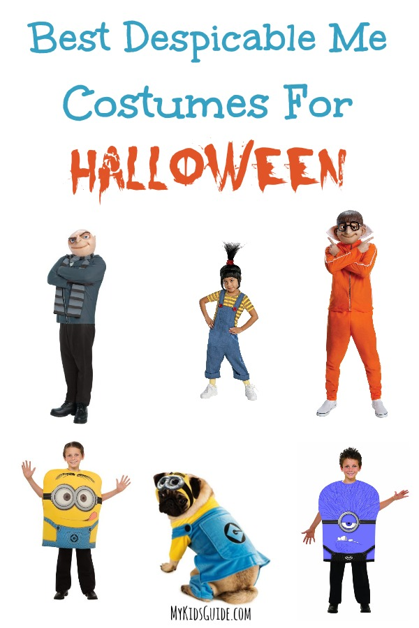 Best Despicable Me Costumes For Halloween | MyKidsGuide.com