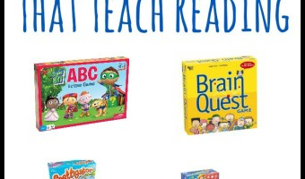 Board Games For Kids That Teach Reading