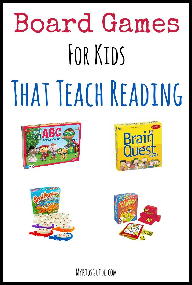 Teach Reading Skills with These Fun Board Games for Kids!
