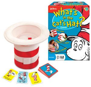 Cat In The Hat Game Dr. Seuss Board Party Games for Kids
