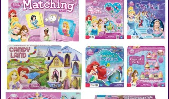 Disney Princess board Games for kids