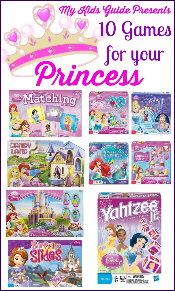 Princess Board Games For Kids