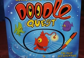 Doodle Quest Board Game for Kids