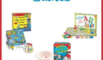 Dr Seuss Board Party Games