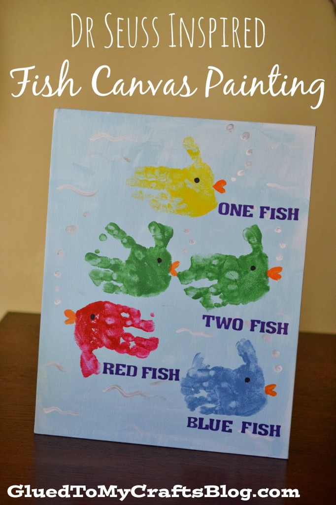 Dr Seuss Craft For kids fish cover