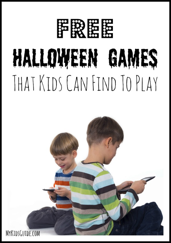 Free Halloween Games That Kids Can Play