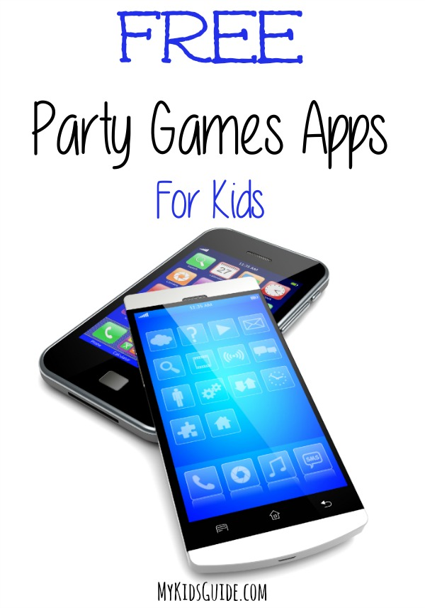 Free Party Games Apps For Kids for Your Smartphone