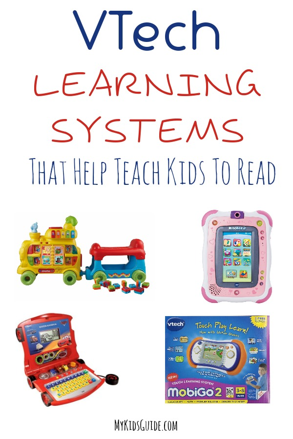 VTech Learning Systems That Help Teach Kids To Read |MyKidsGuide.com