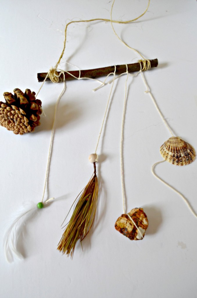 fall crafts for kids nature mobile