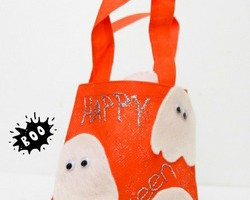 Mini Halloween Bag Craft for Kids