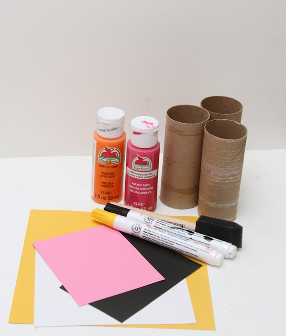 Cardboard Critters craft for kids