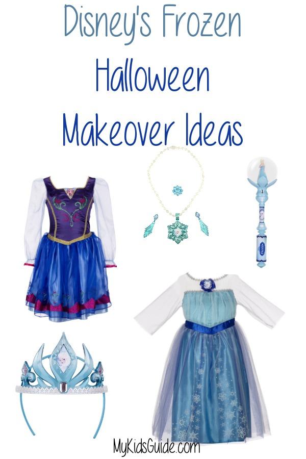 Disney's Frozen Halloween Makeover Ideas | MyKidsGuide.com