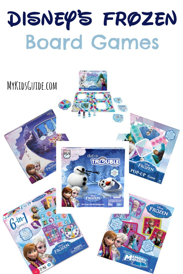 You already have the movie, but now it's time to grab these Disney's FROZEN Board Games For Kids! Get ready for the holidays with our favorite picks!