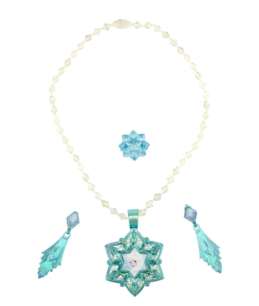 Elsa Jewelry: Disney's Frozen Halloween Makeover Ideas
