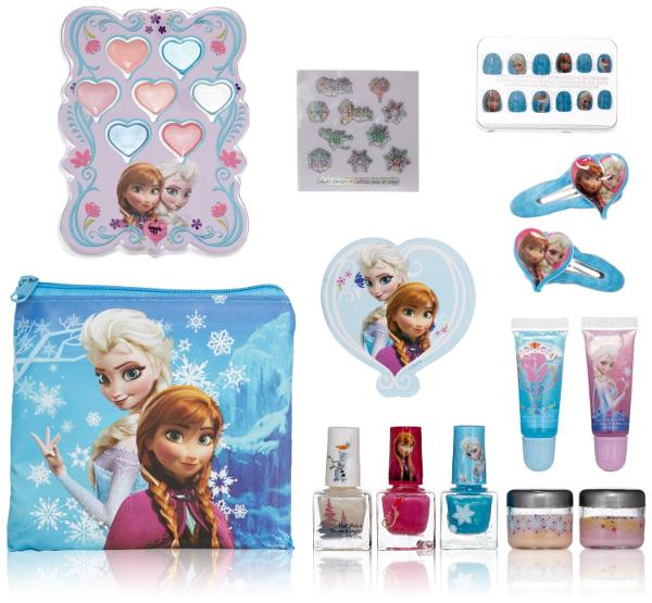 Frozen Cosmetic Kit: Disney's Frozen Halloween Makeover Ideas