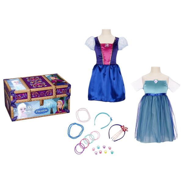 Frozen Dress Up Trunk: Disney's Frozen Halloween Makeover Ideas