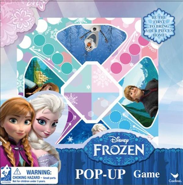 Frozen Pop Up Game: Disney's FROZEN Board Games for Kids