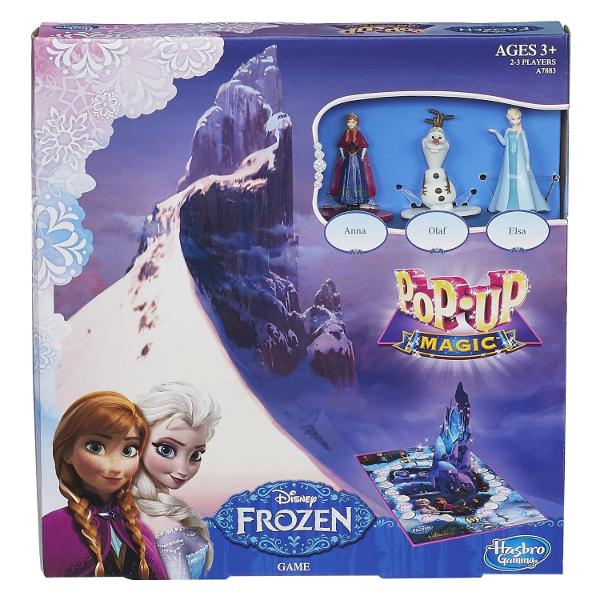Frozen Pop Up Magic Game: Disney's FROZEN Board Games for Kids