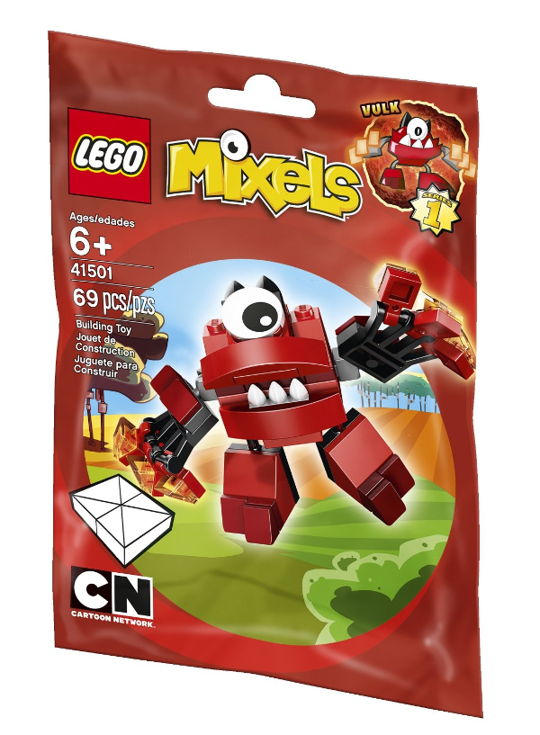 Lego Mixel Vulk: We love LEGO Mixels toys and how they inspire imaginative play with kids. Check out our favorites! It is a great gift idea for Christmas or a birthday party