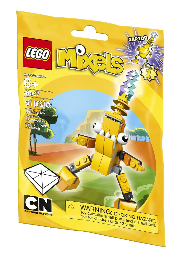 Lego Mixel Zaptor: We love LEGO Mixels toys and how they inspire imaginative play with kids. Check out our favorites! It is a great gift idea for Christmas or a birthday party