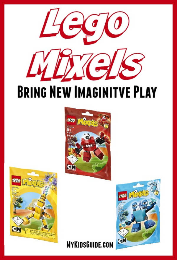 We love LEGO Mixels toys and how they inspire imaginative play with kids. Check out our favorites! It is a great gift idea for Christmas or a birthday party