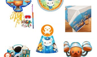 We just can't get over how cute these Octonauts party supplies for kids are! Perfect for your preschool parties and undersea themes.