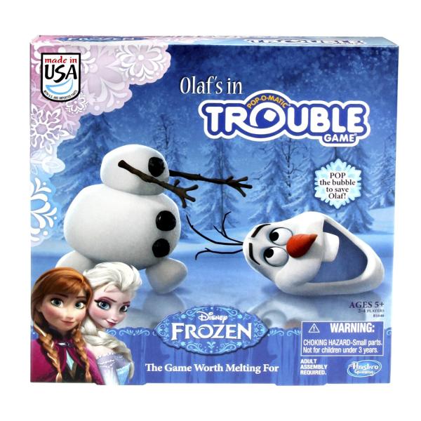 Olafs Trouble Game: Disney's FROZEN Board Games for Kids