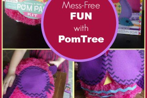 PomTree activity kits for kids offer up mess-free fun that's perfect for rainy day afternoons. Your kids will love discovering the cute critters and making fun crafts!