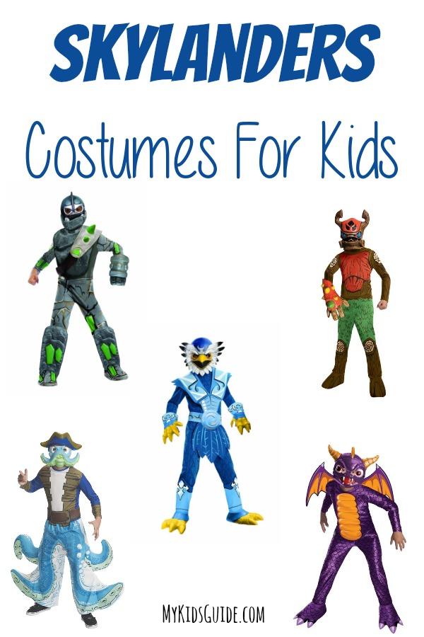 Coolest Halloween Skylanders Costumes For Kids