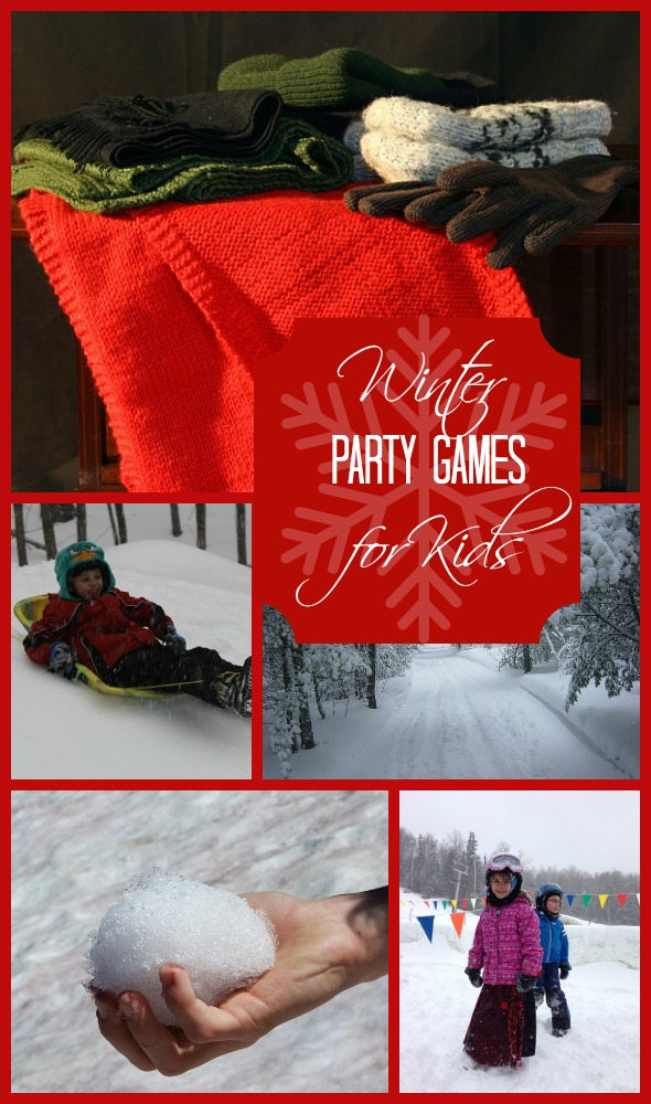 Don't hide from the chill, celebrate the snow with some fun winter party games for kids
