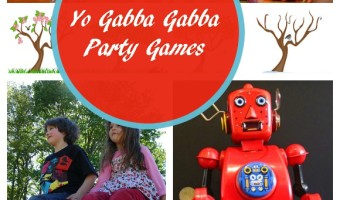 It's Dancey-Dance Time with Our Yo Gabba Gabba Party Games!