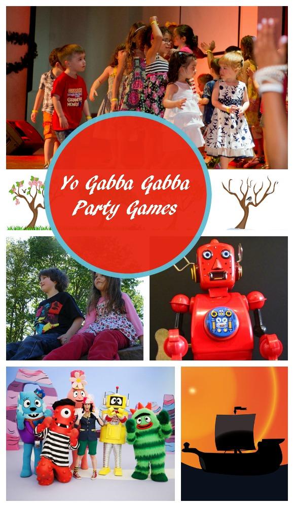 Yo Gabba Gabba Party Games for Kids