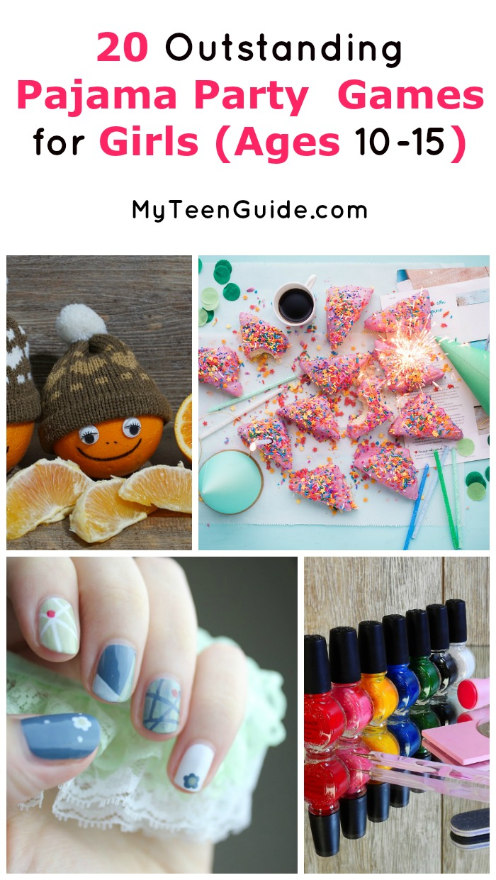 Good fun sleepover games for teen girls