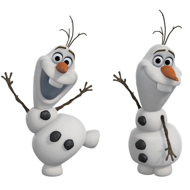 Disney Frozen Olaf the Snowman Peel and Stick Wall Decals | Frozen Party Games For Toddlers