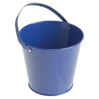 Metal Bucket - Blue   Frozen Party Games for Toddlers