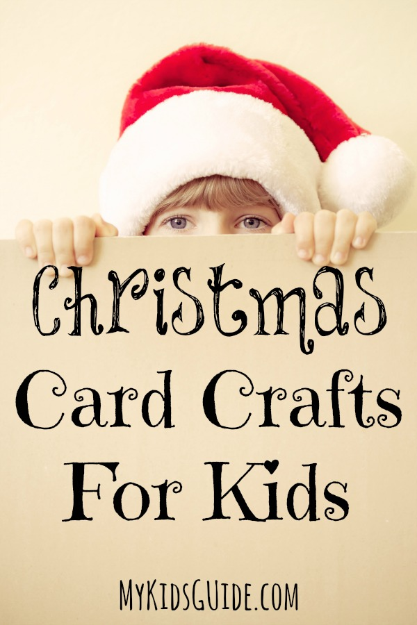 Let your kids make their own adorable cards for family and friends with these sweet and simple Christmas card crafts for kids!