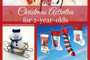 Looking for the cutest Christmas activities for 2 year olds to keep your toddlers busy until Santa arrives? Check out these fun and easy DIY Christmas crafts for kids!