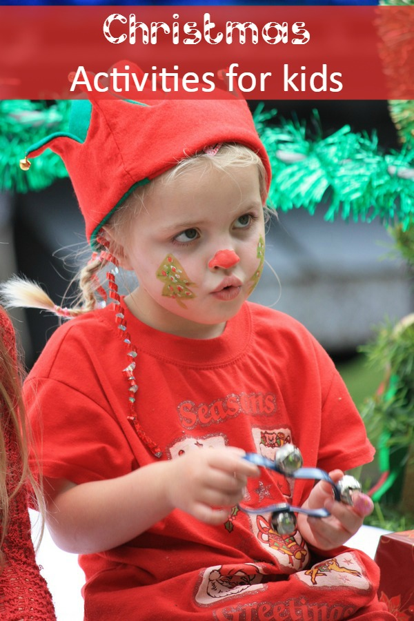 Holly Jolly Christmas Activities for Kids:  You can start to fill your days or evenings with your little one with Christmas activities for kids!  Have you ever thought of making a weekly schedule for yourself so you and your kids can make something or do a fun activity every day or week until Christmas